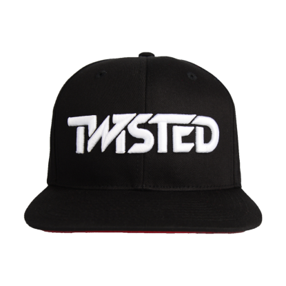 Hat - Black w/ White logo
