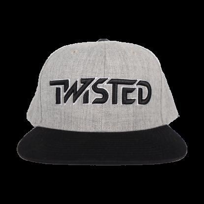 Hat - Grey w/ Black logo